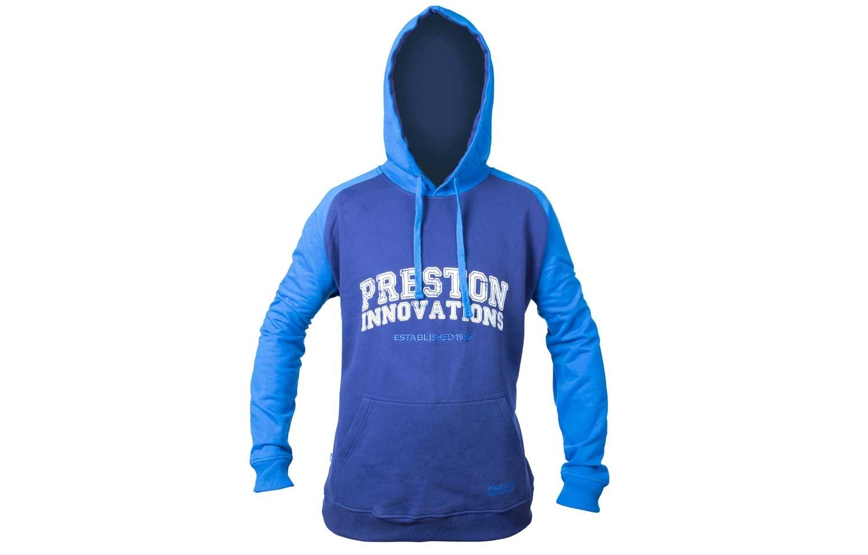Preston TWO TONE BLUE HOODIE